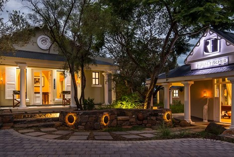An historical and beautiful 5-star Boutique Hotel situated in the Woodland Hills Wildlife Estate, Bloemfontein, Free State. Province