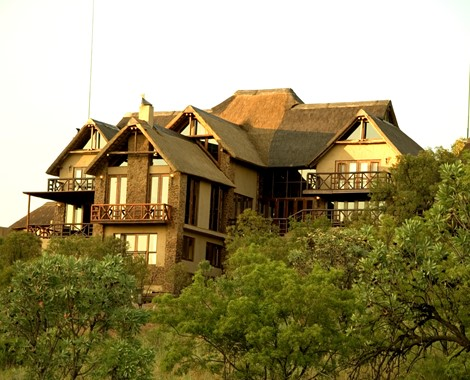 This renowned Game Lodge is located in the Southern part of the Waterberg mountains, approximately one and a half hour's drive north of Pretoria in the Limpopo province