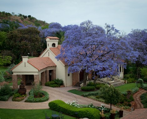 Outstanding Boutique Hotel on 8.5 hectares near Pretoria's city-centre